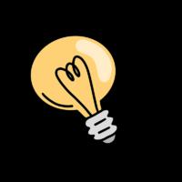 Glühbirne Idee