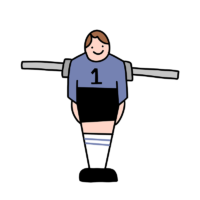 Kicker-Figur